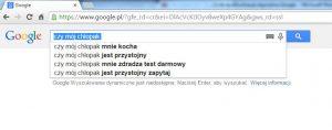 Algorytm służy polepszeniu działalności wyszukiwarki.