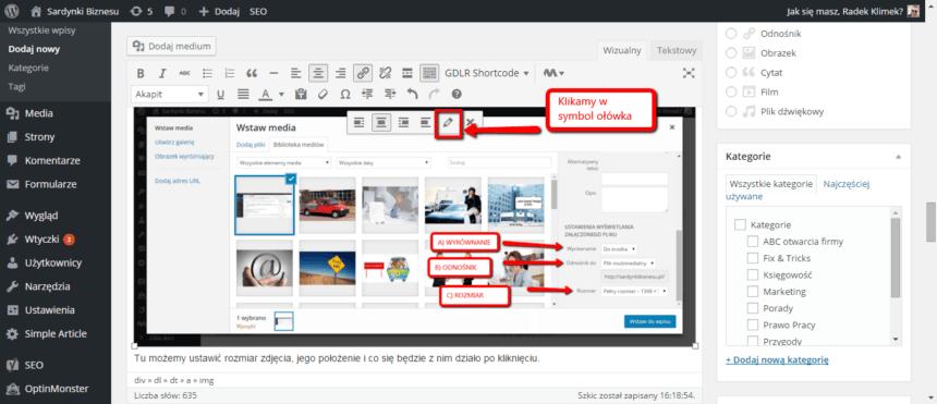 Jak dodać obrazek do WordPress?