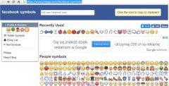 Ikony do postów Facebooku - skąd je wziąć?