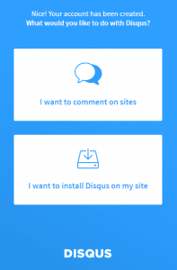 Disqus - przeznaczenie konta