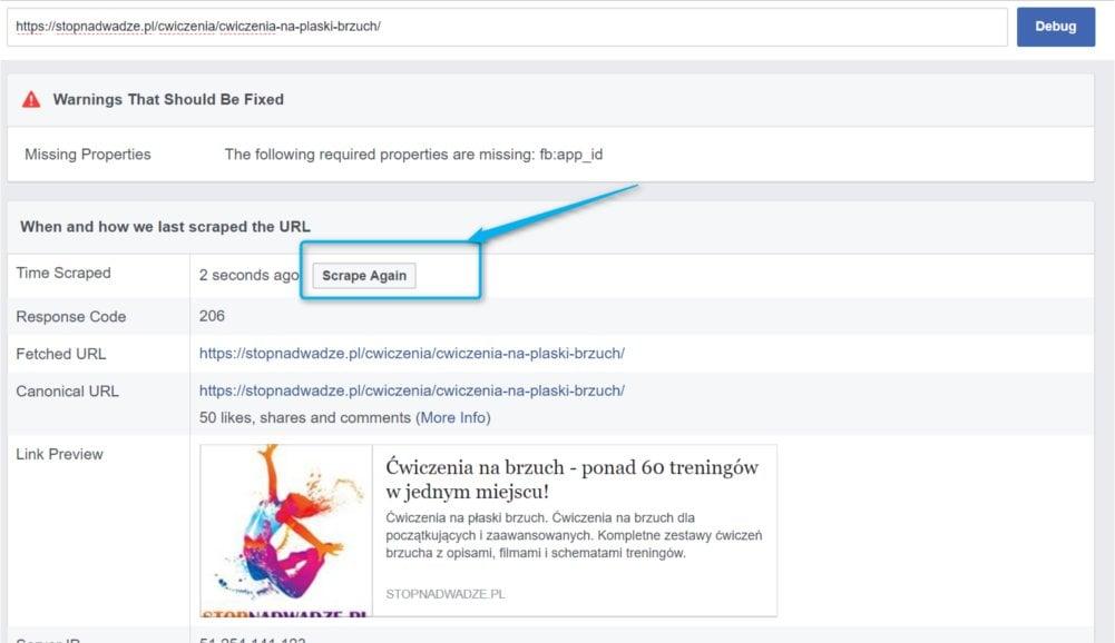 Czyszczenie tekstu w Facebooku - punkt drugi.