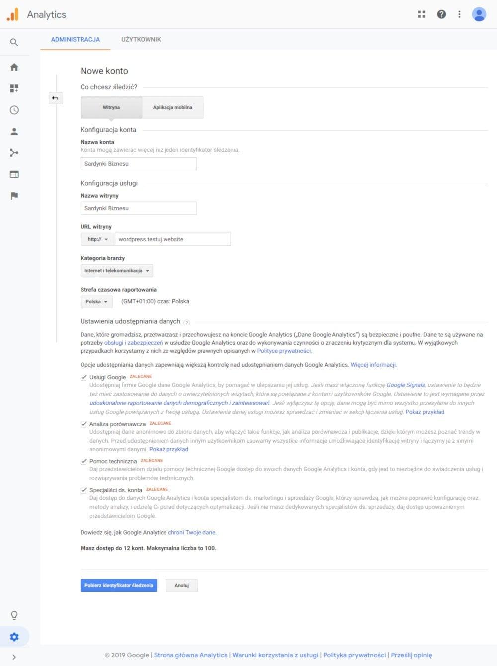Sprawdź jak prosto można dodać kod Google do swojej witryny.
