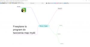 Program do tworzenia map myśli Freeplane