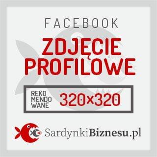 Rozmiar grafiki zdjęcia profilowego na Facebooku.
