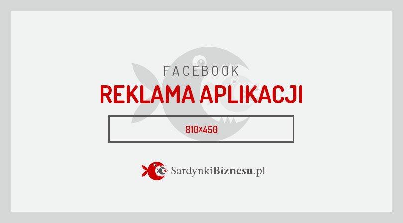 Rozmiar grafiki w reklamie na Facebooku.
