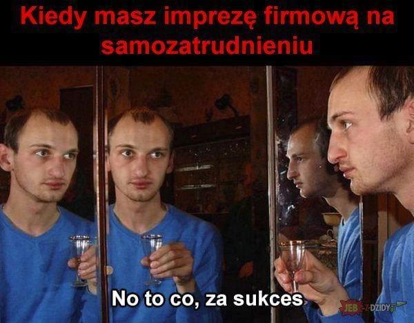 Mem przedsiębiorca, impreza firmowa.