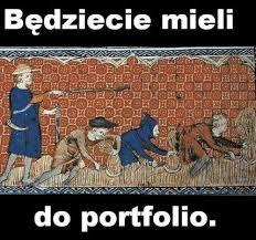 Mem będziecie mieli do portfolio.