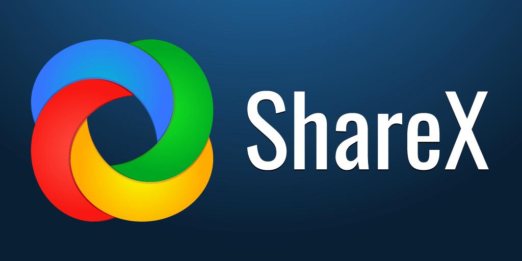 Program do zrzutów ekranu - Sharex.