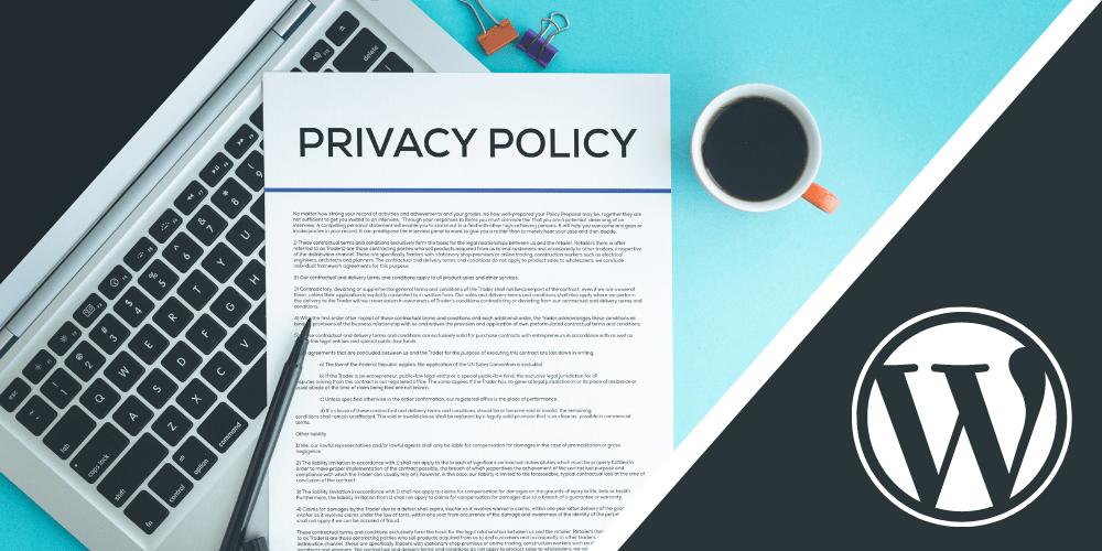 Jak dodać button polityki prywatności w panelu WordPress | Poradnik krok po kroku