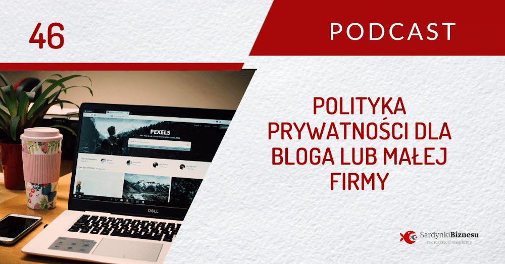 Jak napisać politykę prywatności bloga. Gotowy wzór do pobrania.