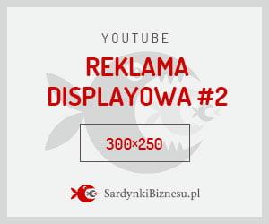 Wymiar reklamy displayowej na YouTube.